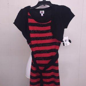 CherryStix Little Girl Dress size Medium 10/12 NWT